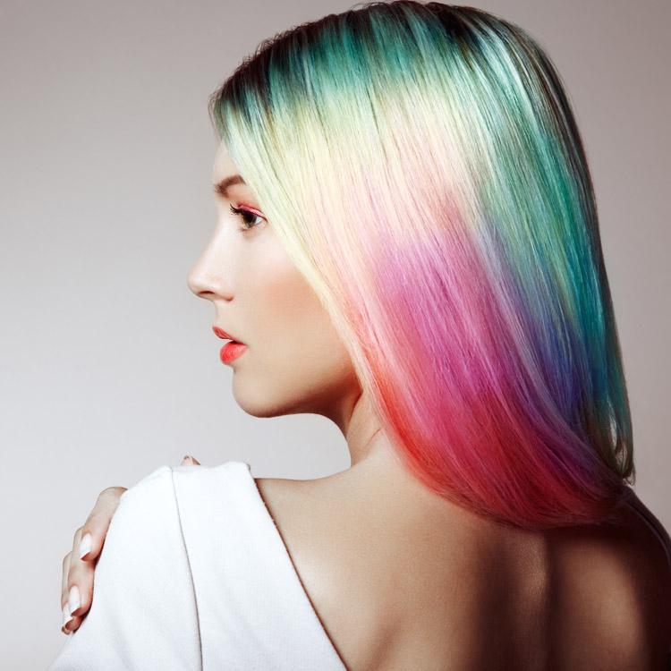 Gamme coloration sans ammoniaque INOA L'Oréal Paris toutes les couleur en dégradé
